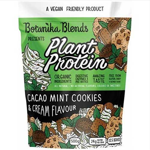 BOTANIKA BLENDS Plant Protein Cacao Mint Cookies & Cream 500g