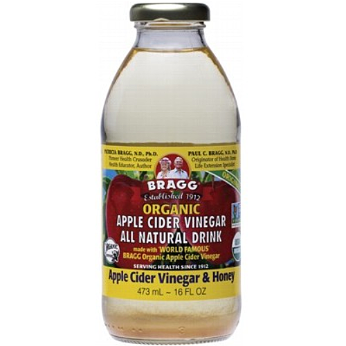 BRAGG Organic Apple Cider Vinegar Drink ACV with Honey 473ml
