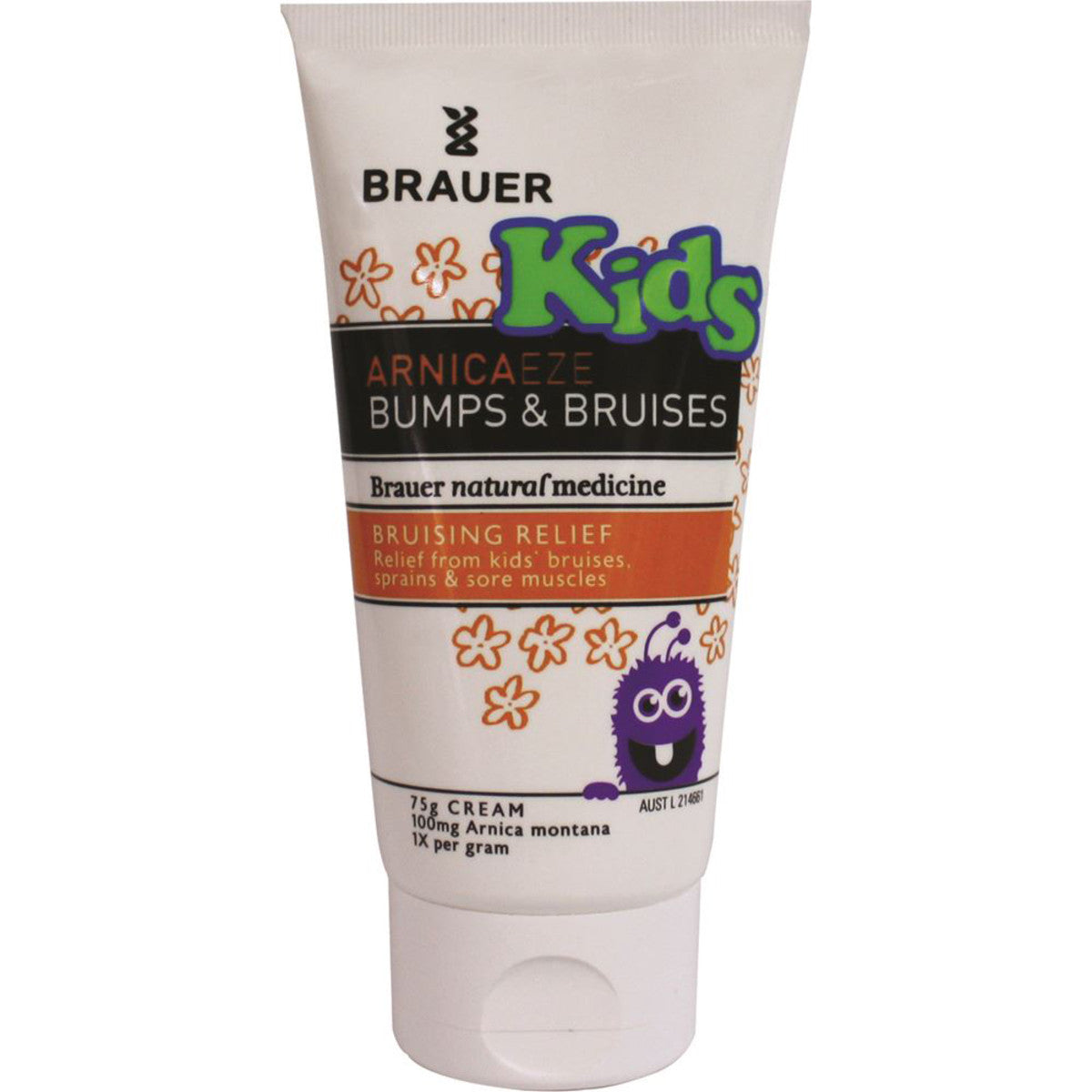 Brauer arnicaeze kids bumps bruises 75g cream - Bathroom items that start with g ...