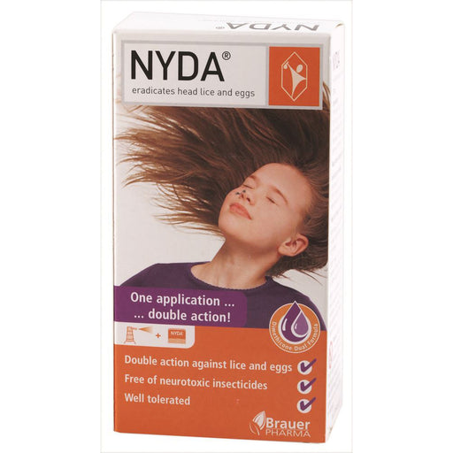 Brauer Nyda Head Lice Treatment No More Nits 50ml