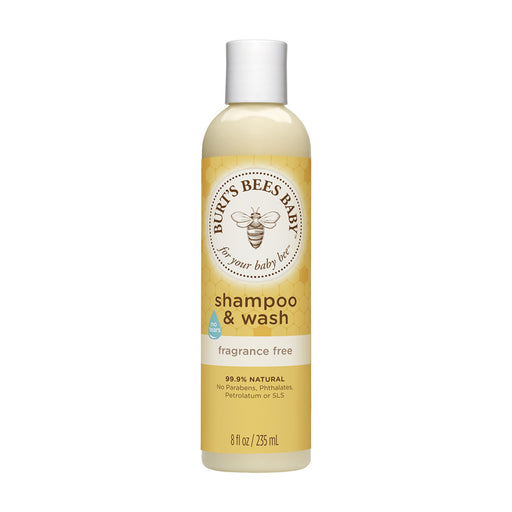 Burts Bees Baby Bee Fragrance Free Shampoo and Wash