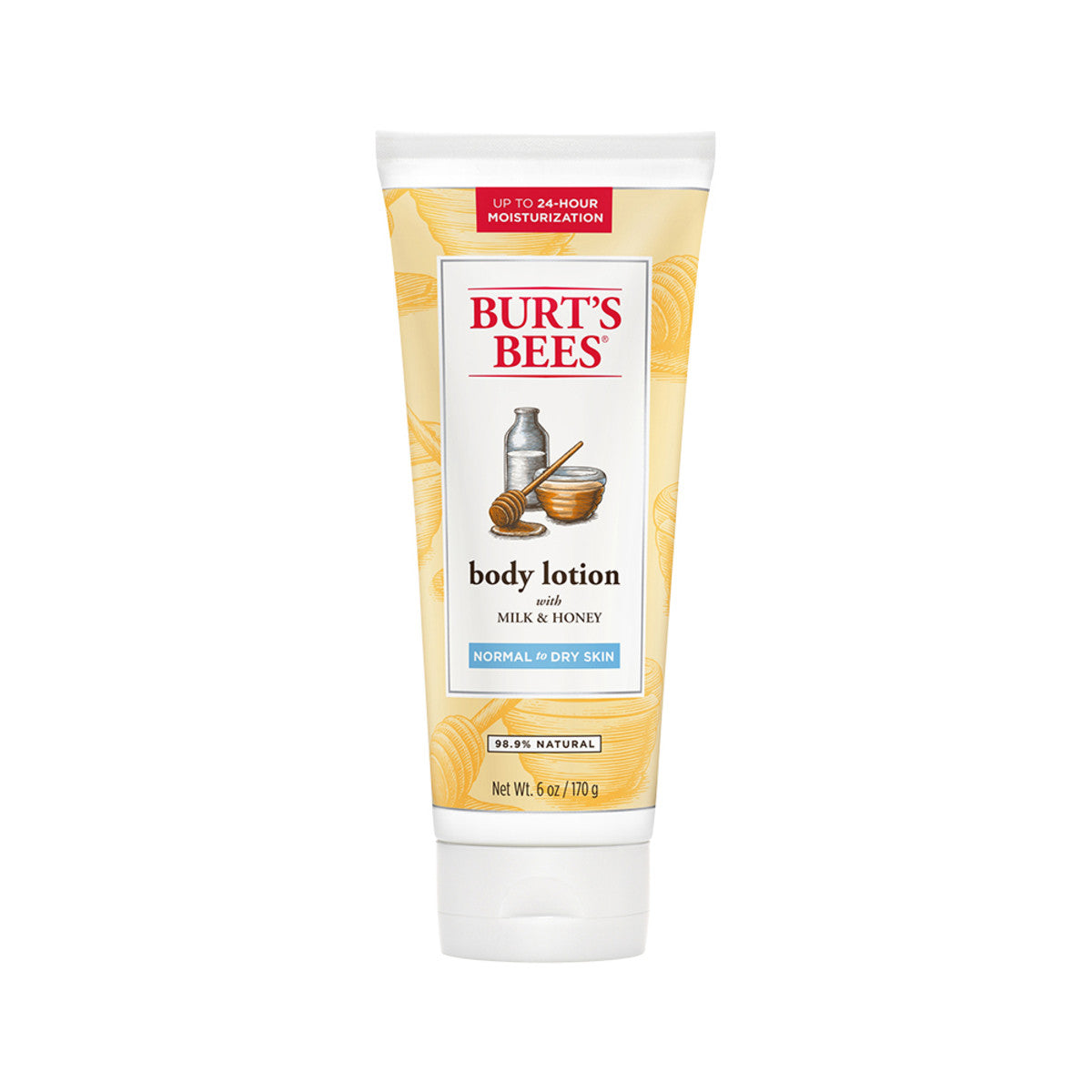 Burts bees naturally nourishing body lotion with milk - Bathroom items that start with g ...