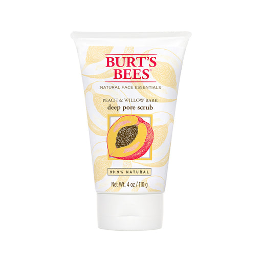 Burts Bees Peach & Willow Bark Deep Pore Scrub