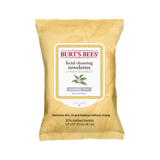 Burts Bees White Tea Extract Facial Cleansing Towelettes