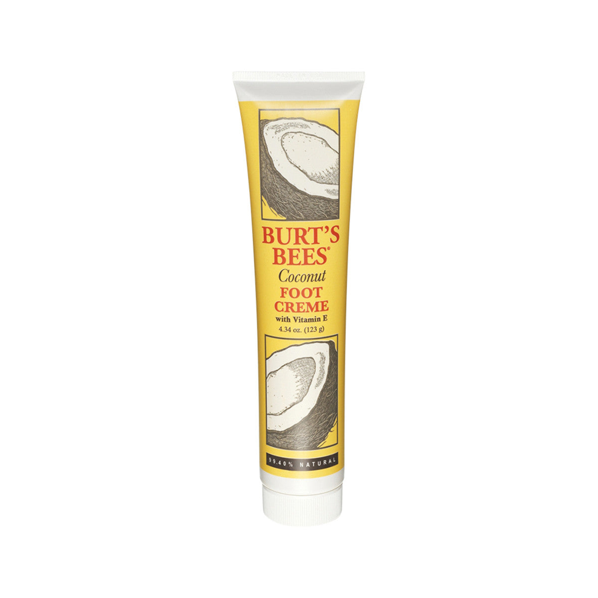 Burts bees coconut foot cream 123g australian organic - Bathroom items that start with g ...