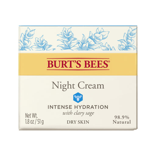 Burts Bees Clary Sage Intense Hydration Night Cream