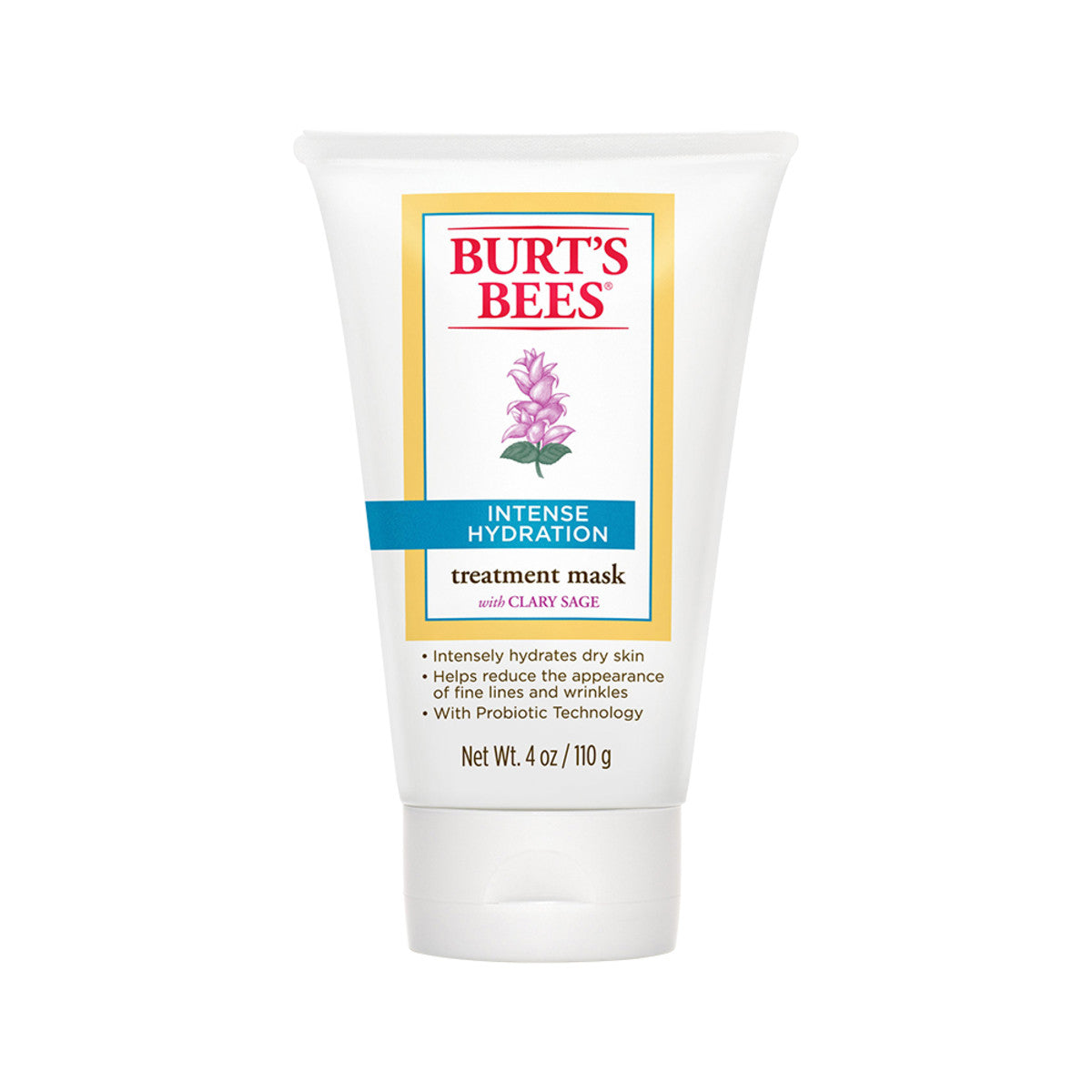 Burts bees clary sage intense hydration treat mask 110g - Bathroom items that start with g ...