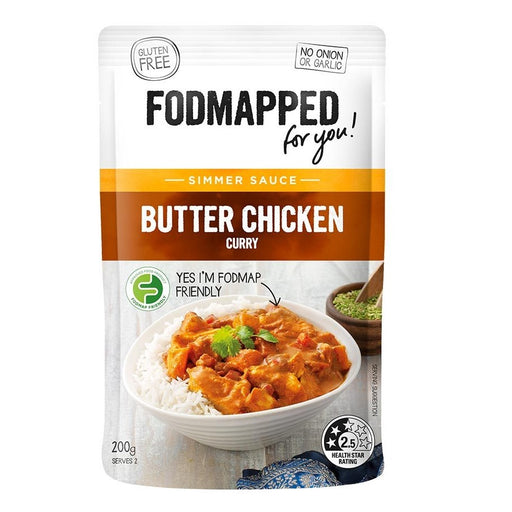 Fodmapped Butter Chicken Simmer Sauce