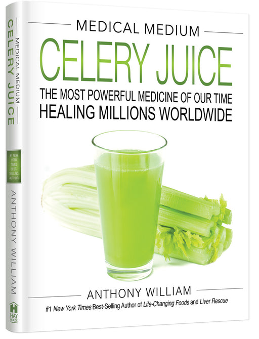 BOOK Medical Medium Celery Juice By Anthony William