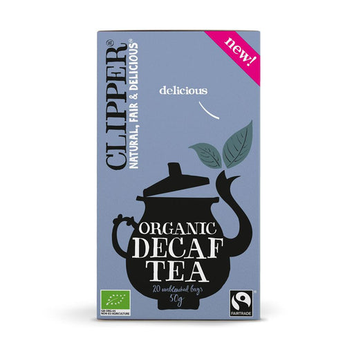 CLIPPER Organic Black Tea Decaf Everyday 20 teabags