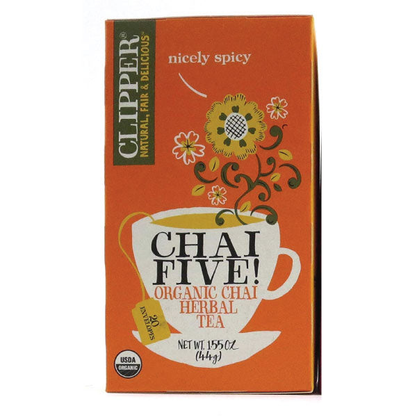 CLIPPER Organic Tea Chai Five 20 teabags