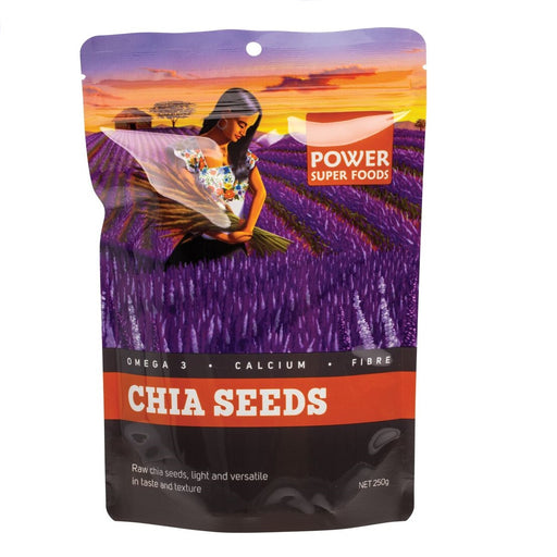 "Power Super Foods Chia Seeds ""The Origin Series"" - 250g"