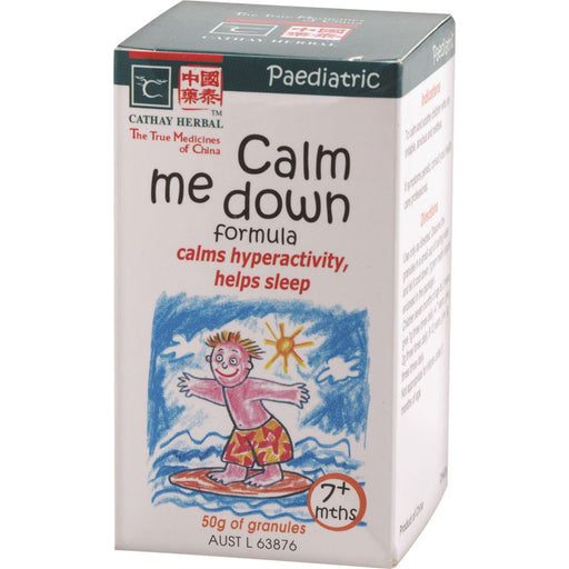 Cathay Herbal Paediatric Calm Me Down Formula