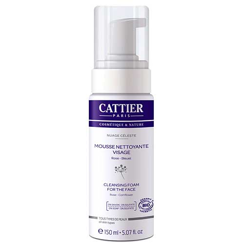 CATTIER Cleansing Foam for the Face Rose Mousse Nettoyante Visage 150mL