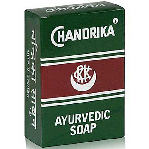 CHANDRIKA Ayurvedic Soap Made in India 75g