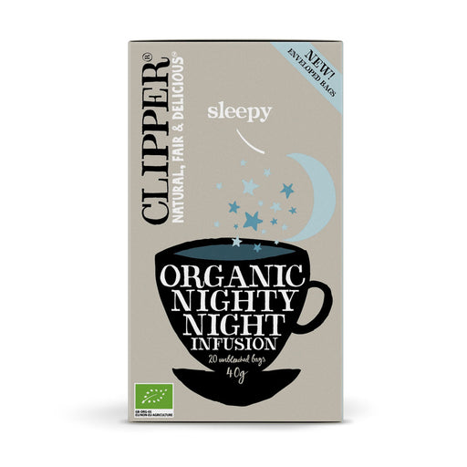 CLIPPER Organic Nighty Night Infusion Tea