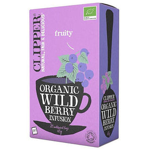 CLIPPER TEA Organic Wild Berry Infusion 20 teabags
