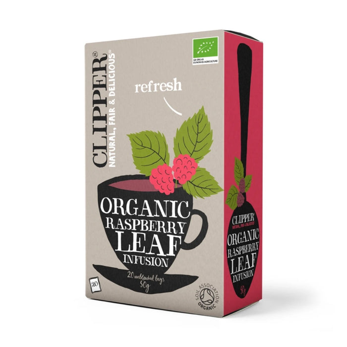 CLIPPER Organic Raspberry Leaf Infusion Tea 20 teabags