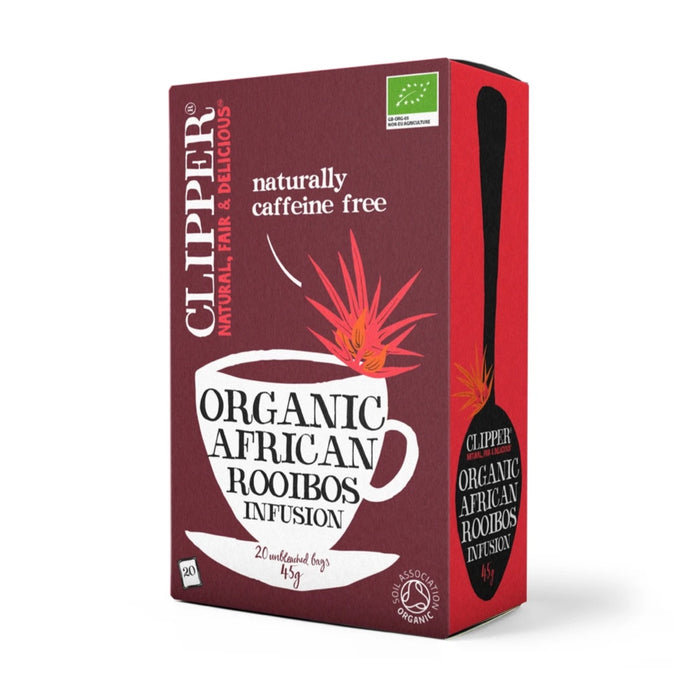 CLIPPER Organic Rooibos Tea Infusion 20 teabags