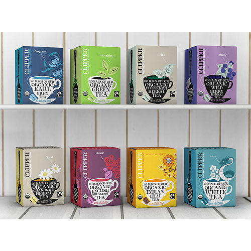 CLIPPER Organic Green Tea Fair Trade 25 teabags