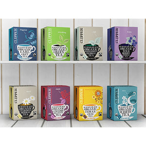 CLIPPER Organic White Tea with Vanilla 26 teabags