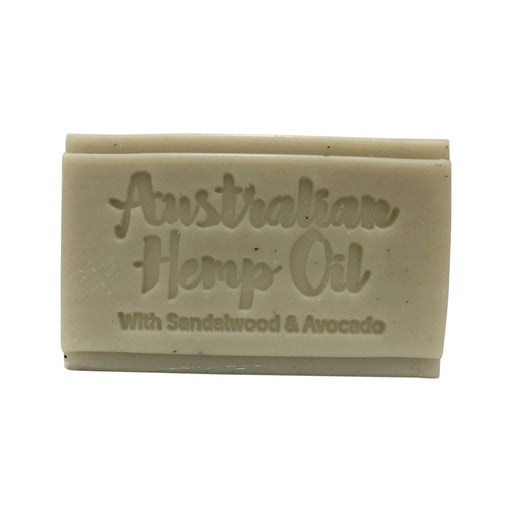 Clover Fields Nature's Gifts Australian Hemp Oil with Sandalwood & Avocado Soap Bar