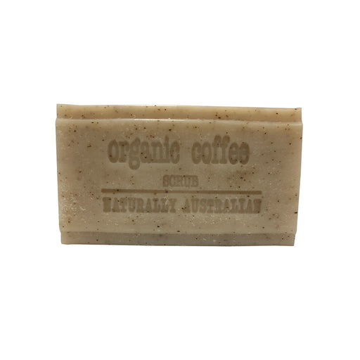 Clover Fields Coffee Scrub Soap