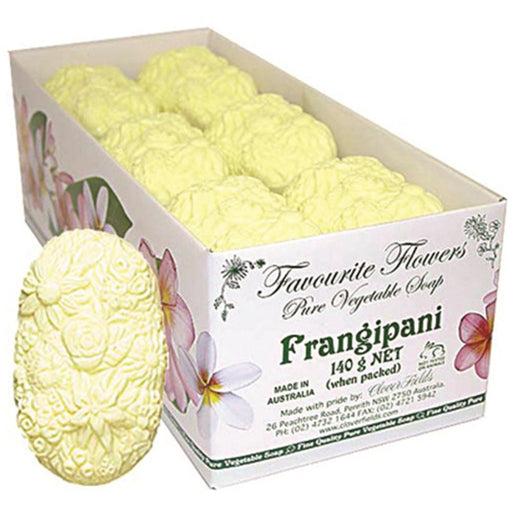 Clover Fields Fav Flower Frangipani Soap
