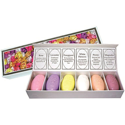 Clover Fields Gift Box Favourite Flowers Mini Soaps