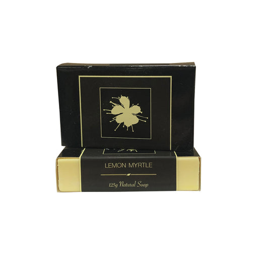 Clover Fields Lemon Myrtle Soap Boxed 125g