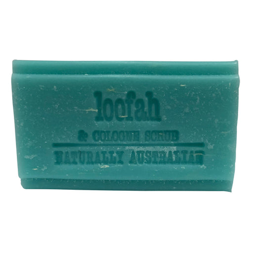 Clover Fields Loofah Scrub Soap 100g