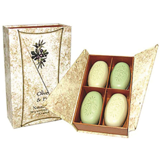 Clover Fields Gift Box Olive & Fig Soap