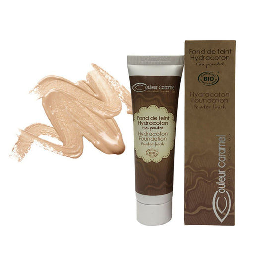 Couleur Caramel Apricot Hydracoton Foundation Make Up
