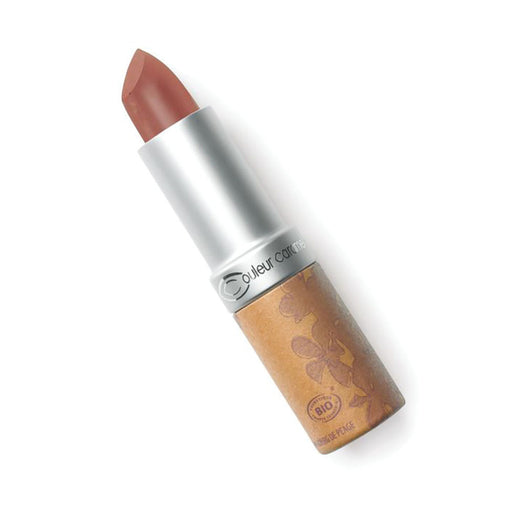 Couleur Caramel Glossy Pearly Chocolate Brown Lipstick