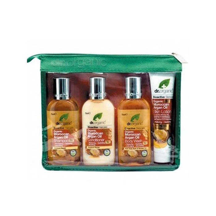 DR ORGANIC Moroccan Argan Oil Mini Travel Pack