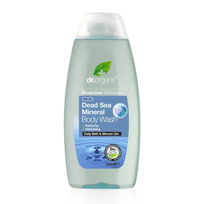 DR ORGANIC Body Wash Dead Sea Mineral 250ml