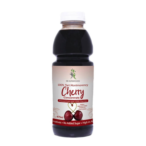 DR SUPERFOODS Tart Cherry Concentrate From Montmorency Cherries 473ml