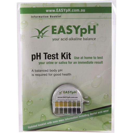EASY pH Test Kit including Booklet