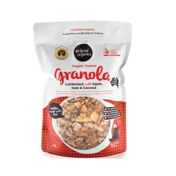 ECLIPSE ORGANICS Granola Lumberjack with Apple Date & Coconut