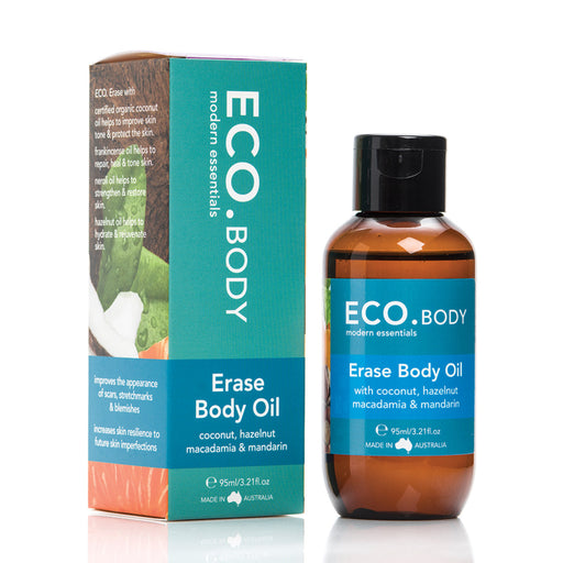 Eco Modern Essentials Coconut, Hazelnut, Macadamia & Mandarin Erase Body Oil