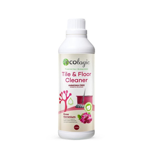 ECOLOGIC Tile & Floor Cleaner Rose Geranium - 1L