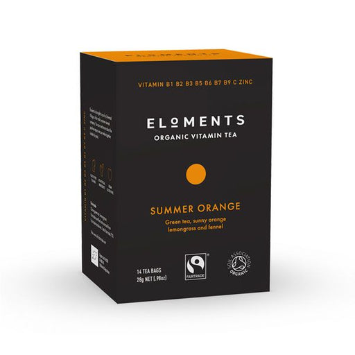 ELOMENTS Organic Vitamin Tea Summer Orange 14 teabags