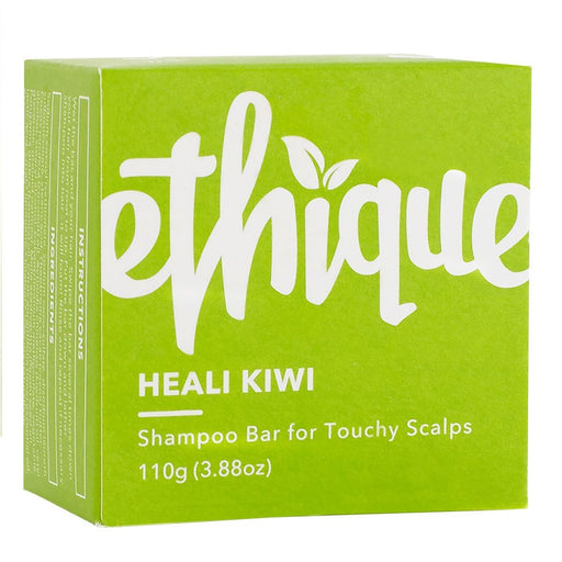 Ethique Solid Shampoo Bar Heali Kiwi - For Touchy Scalps