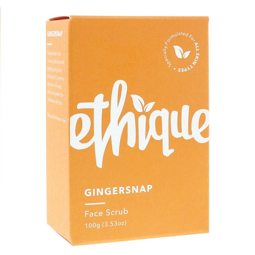 Ethique Solid Face Scrub Bar Gingersnap