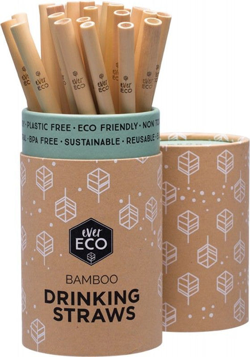 EVER ECO Bamboo Straws Counter Display - 30