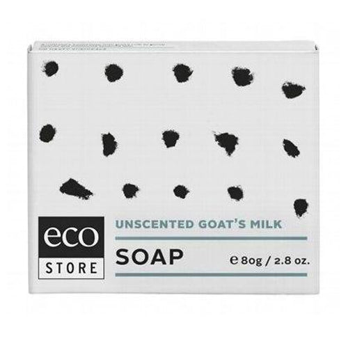 ECOSTORE Unscented Goat's Milk Soap 80g