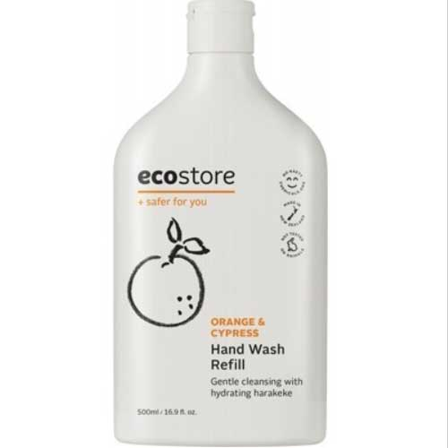 ECOSTORE Organic Hand Wash Refill Orange & Patchouli 500ml