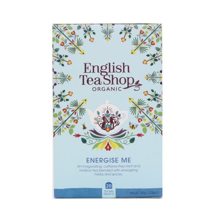 English Tea Shop Organic Wellness Energise Me Tea 20 Bags