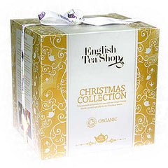 Gold Cube Christmas Tea Collection