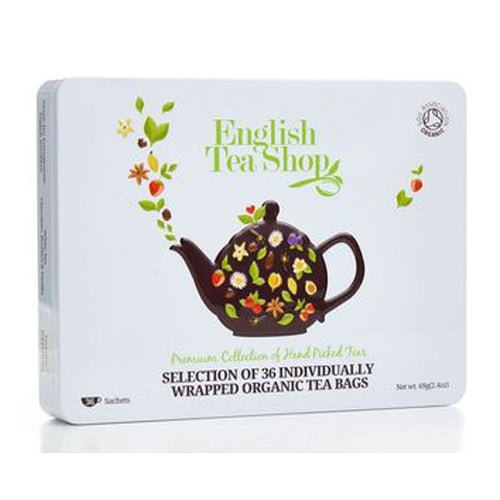 English Tea Shop White Gift Box